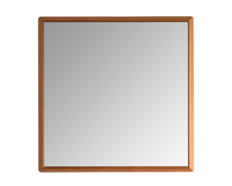 ウォールナット家具美容室鏡壁掛けセンノキミラーおしゃれステラ日本製天然木無垢材北欧木枠オーダーふるさと納税